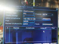 Hikvision DS-7608NI-E2/8P/POE nie widzi kamer