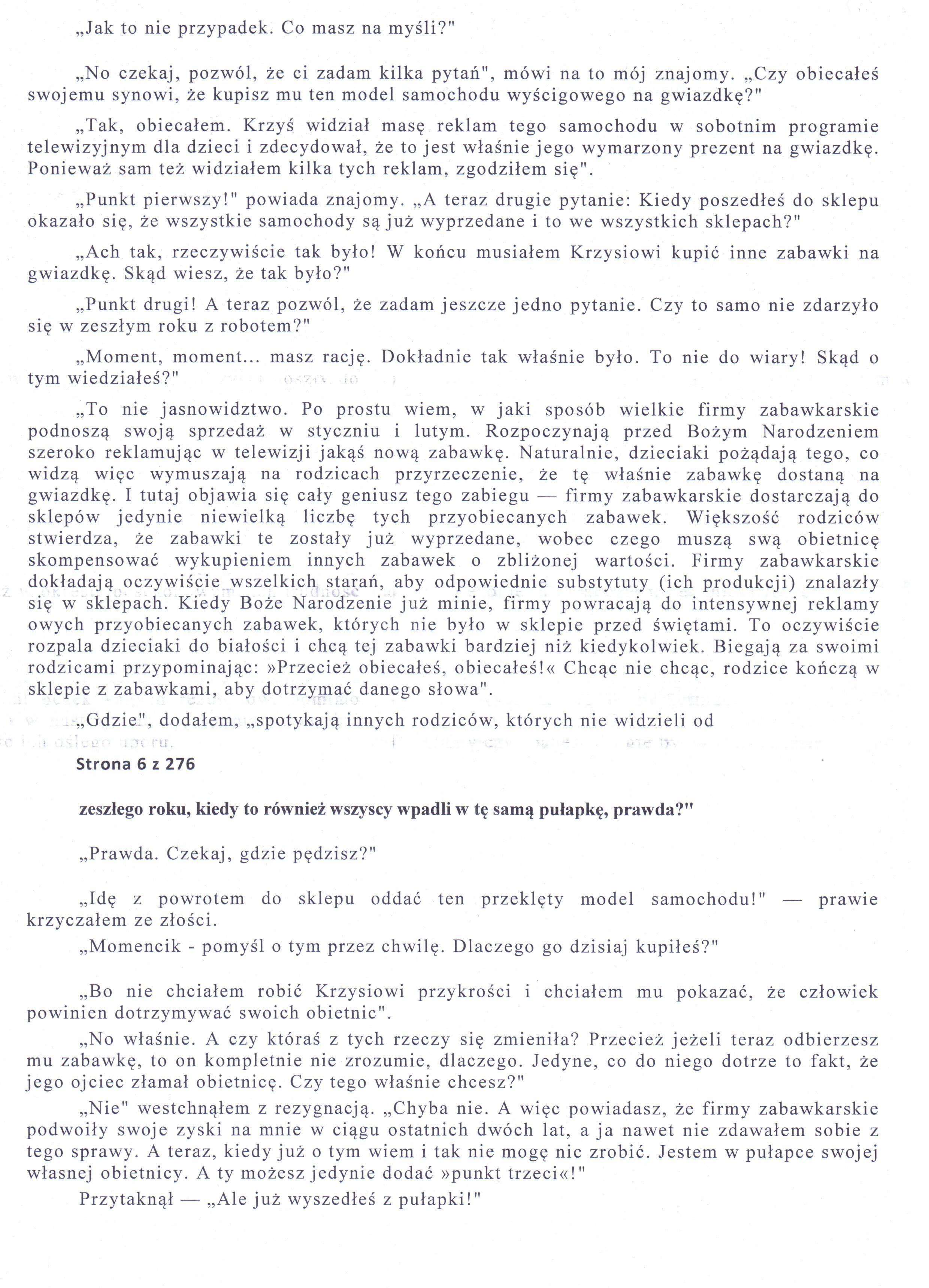Konica Minolta 7135 Nadrukowuje tekst z poprzedniej strony