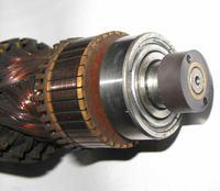 Wirnik silnika pralki Beko - wymiana �o�yska od strony komutatora - foto