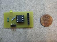 [C] Attiny13A czytnik RFID wysyłanie kodu przez RS232