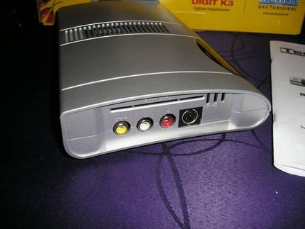 Jak pod��czy� dekoder kablowy DVB-C do karty telewizyjnej?