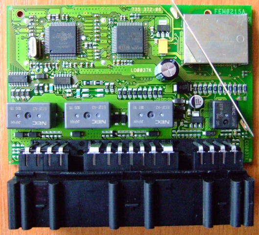 Fabia moduł komfortu. Różnica między modułami 6Q0959433C a 6Q0959433E.