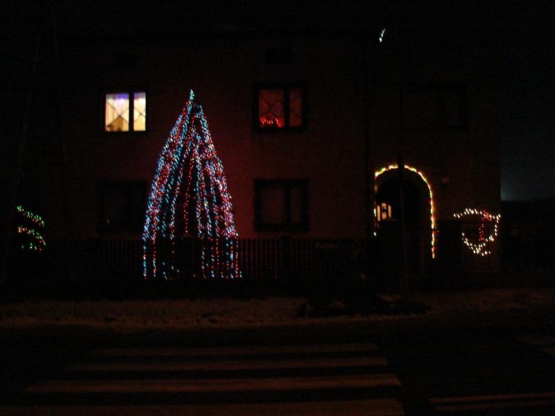 świąteczne Oświetlenie Domu Elektrodapl