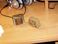 Transformator wyjściowy do PCL86