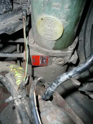 Golf 3 1.9D elektryczna pompa wspomagania nie działa