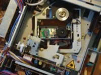 Toshiba XR-Z70 - rozkręciłem laser i nie działa.