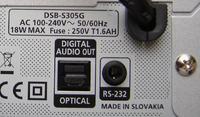 SAMSUNG DSB-S305G i kabel RS232(Cyfrowy Polsat)