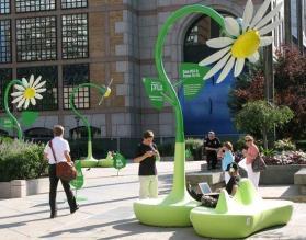 Energia elektryczna i Wi-Fi dzięki gigantycznej roślinie.