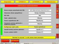 FABRYCZNE RADIO, Citroen, C5 - glosniki