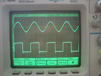 Generator MAX038 zbyt duża częstotlliwość i składowa stała