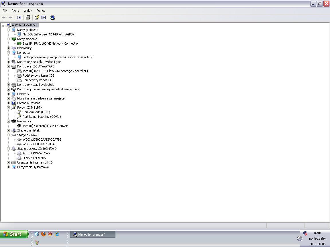 Windows XP BIOS/CMOS - Mysz bezprzewodowa przesta�a dzia�a�