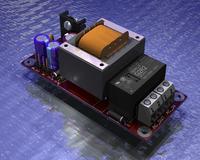 Eagle3D. Zbi�r zaprojektowanych p�ytek PCB.