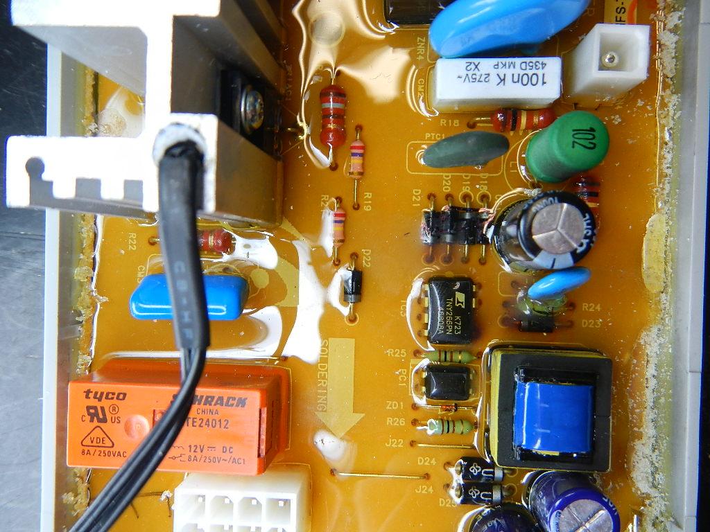 Pralka Samsung WF F1062 popsuty programator