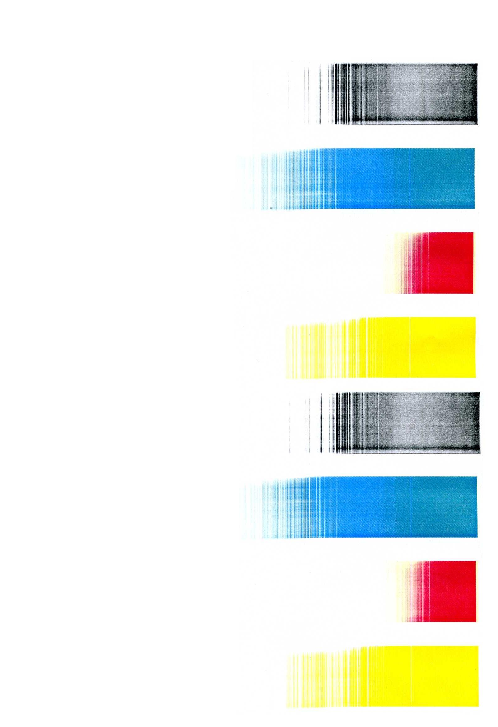 HP 2600n - drukuje na 1/3 szeroko�ci strony