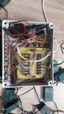 Choinka świąteczna- Arduino+ 3000 LED