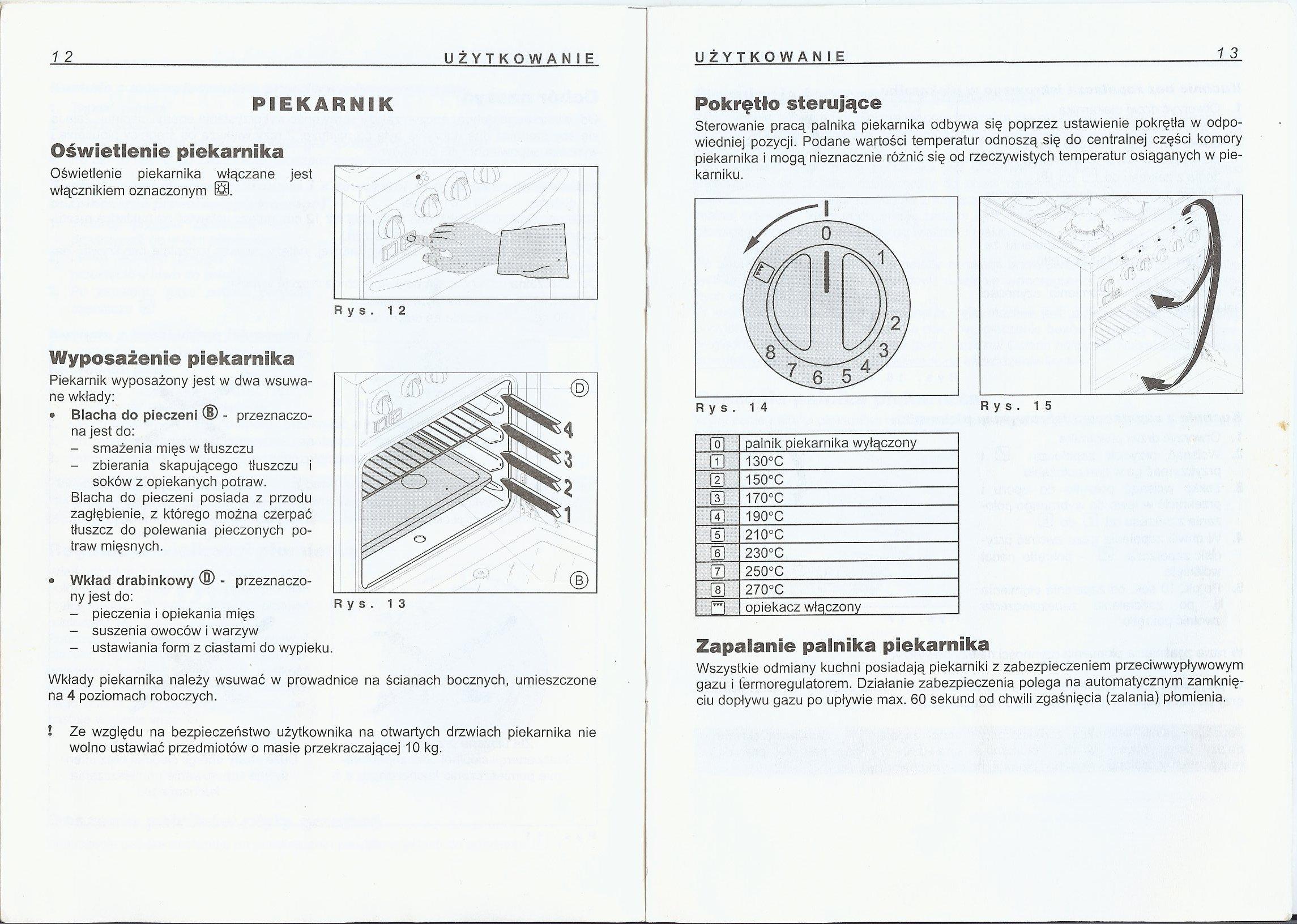 Kuchnia Gazowa ACANTA  elektroda pl -> Kuchenka Gazowa Amica Z Termoobiegiem