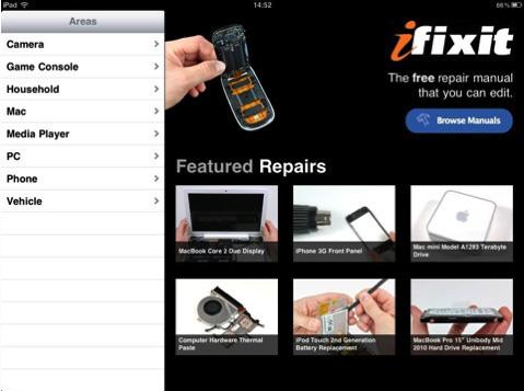 poradnik napraw produktów Apple od iFixit