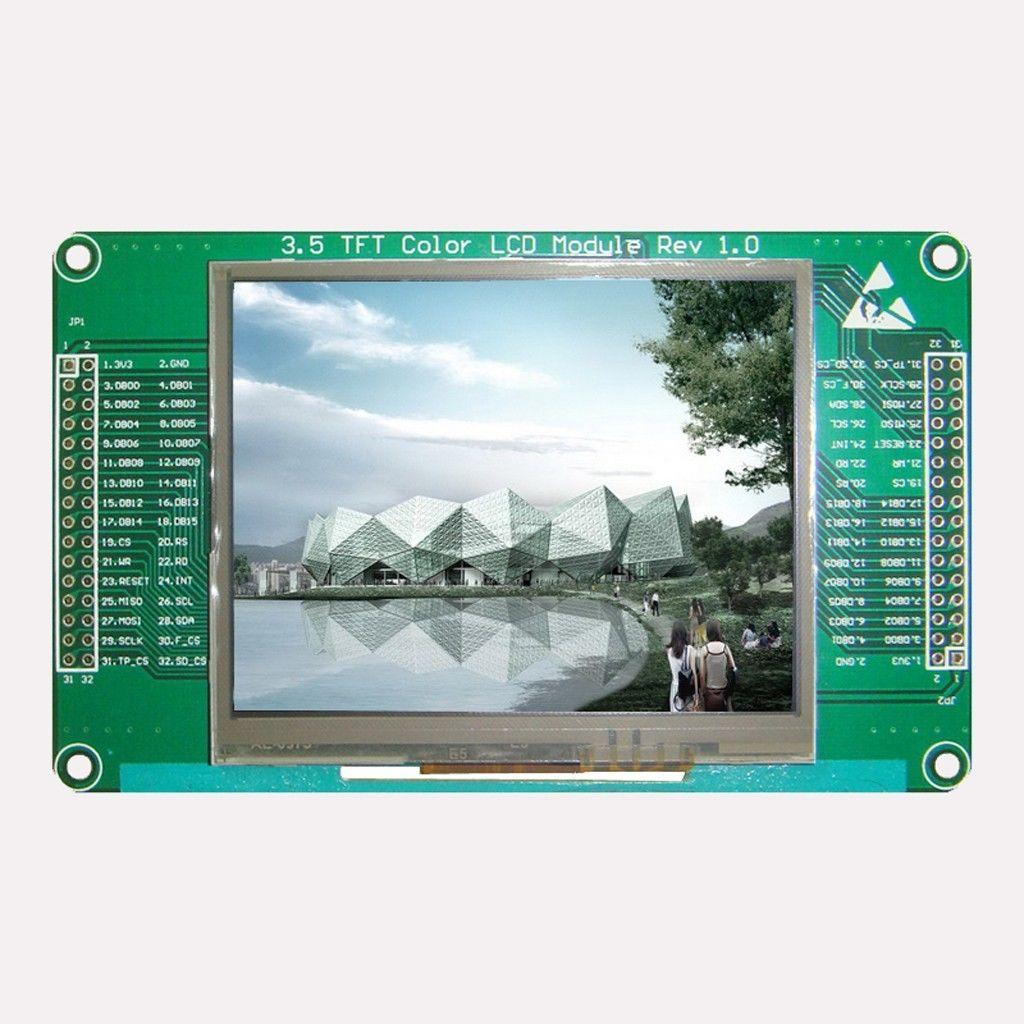 """[Sprzedam] Wy�wietlacz TFT 3,5"""" 240x320, karta SD+Dotyk SSD219"""