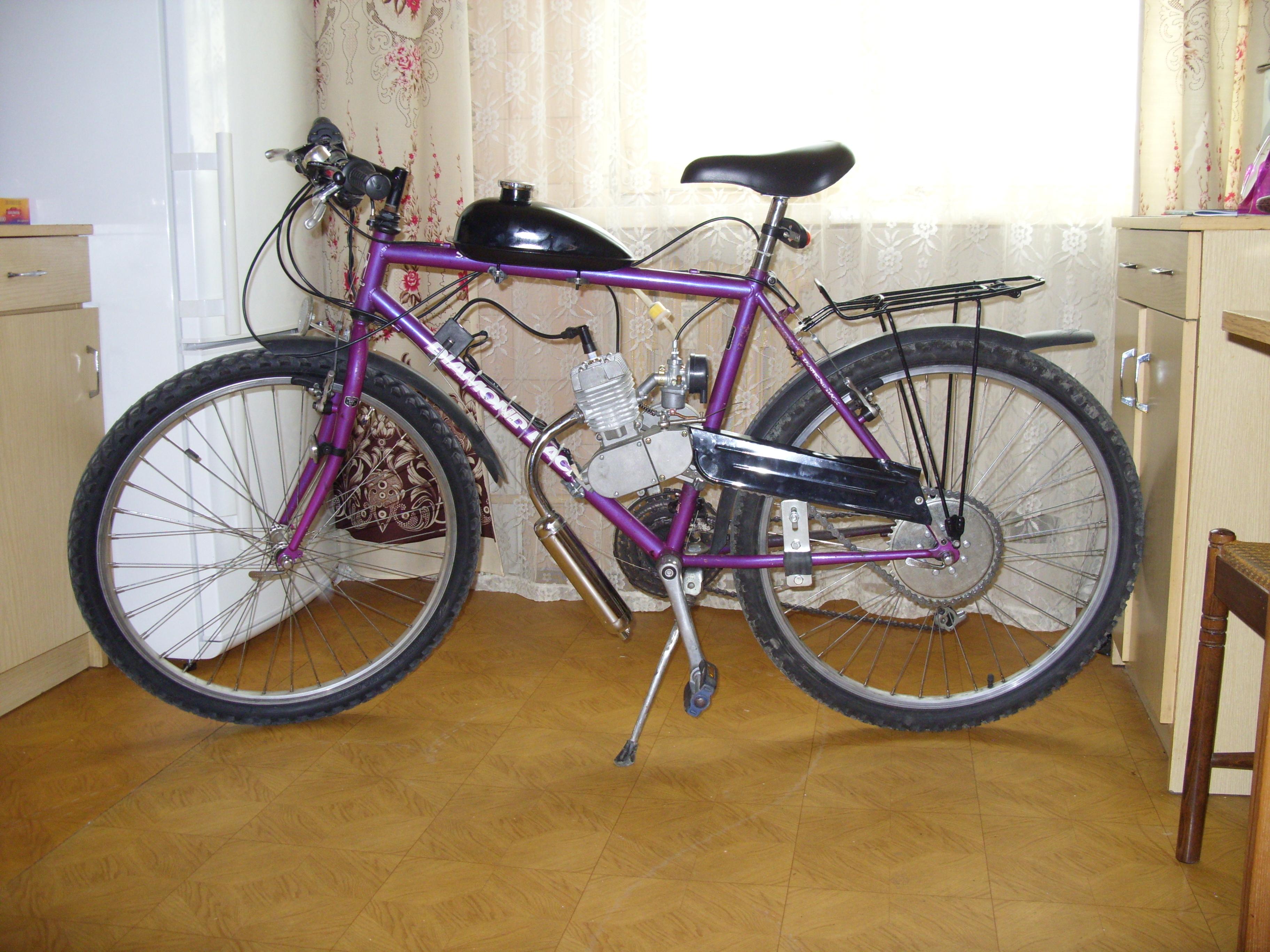 Chi�ski silnik rowerowy - nie dzia�a przycisk stop, regulacja ga�nika