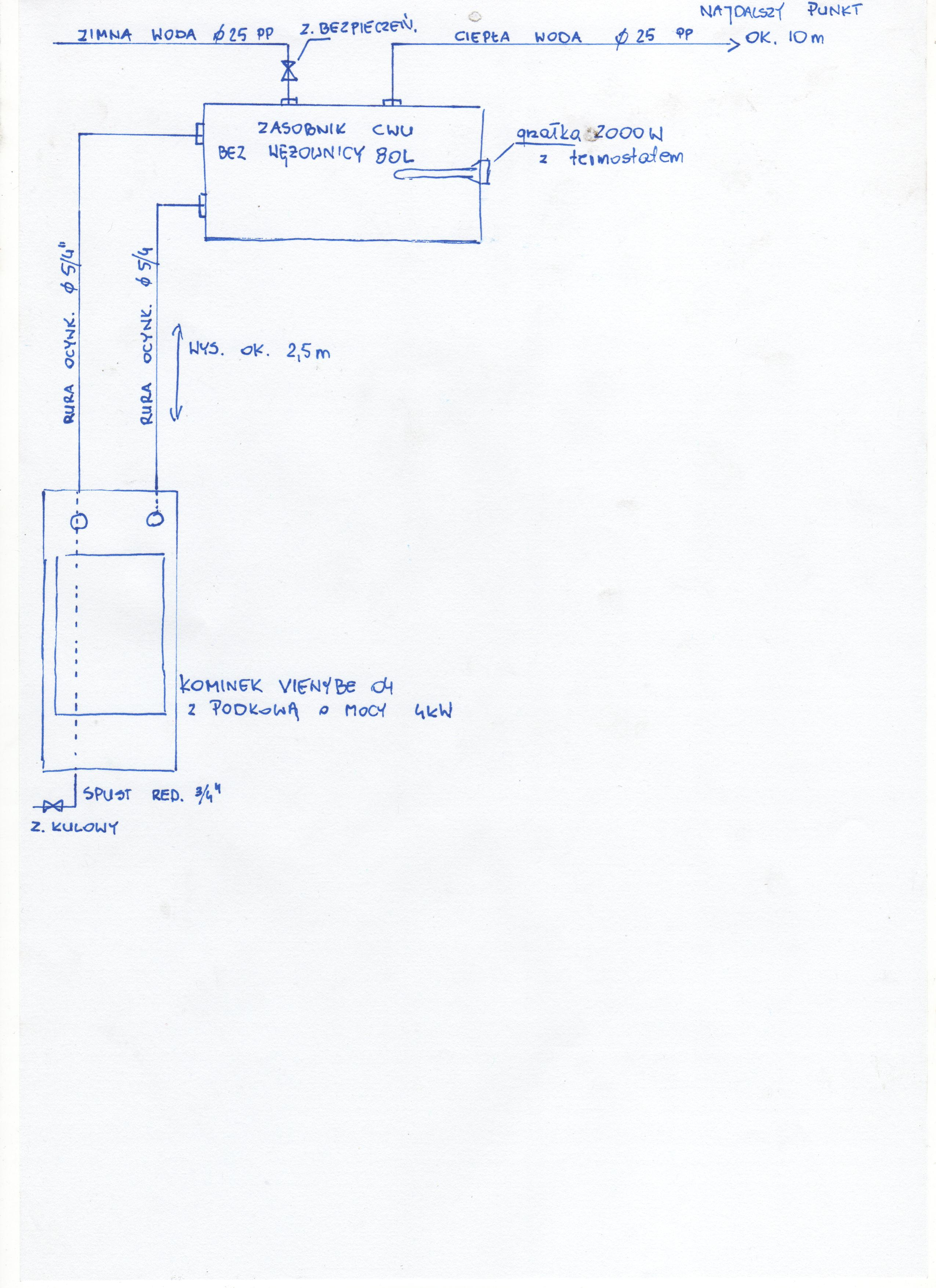Kominek Vienybe 04 z podkow�  - Pro�ba o projekt instalacji