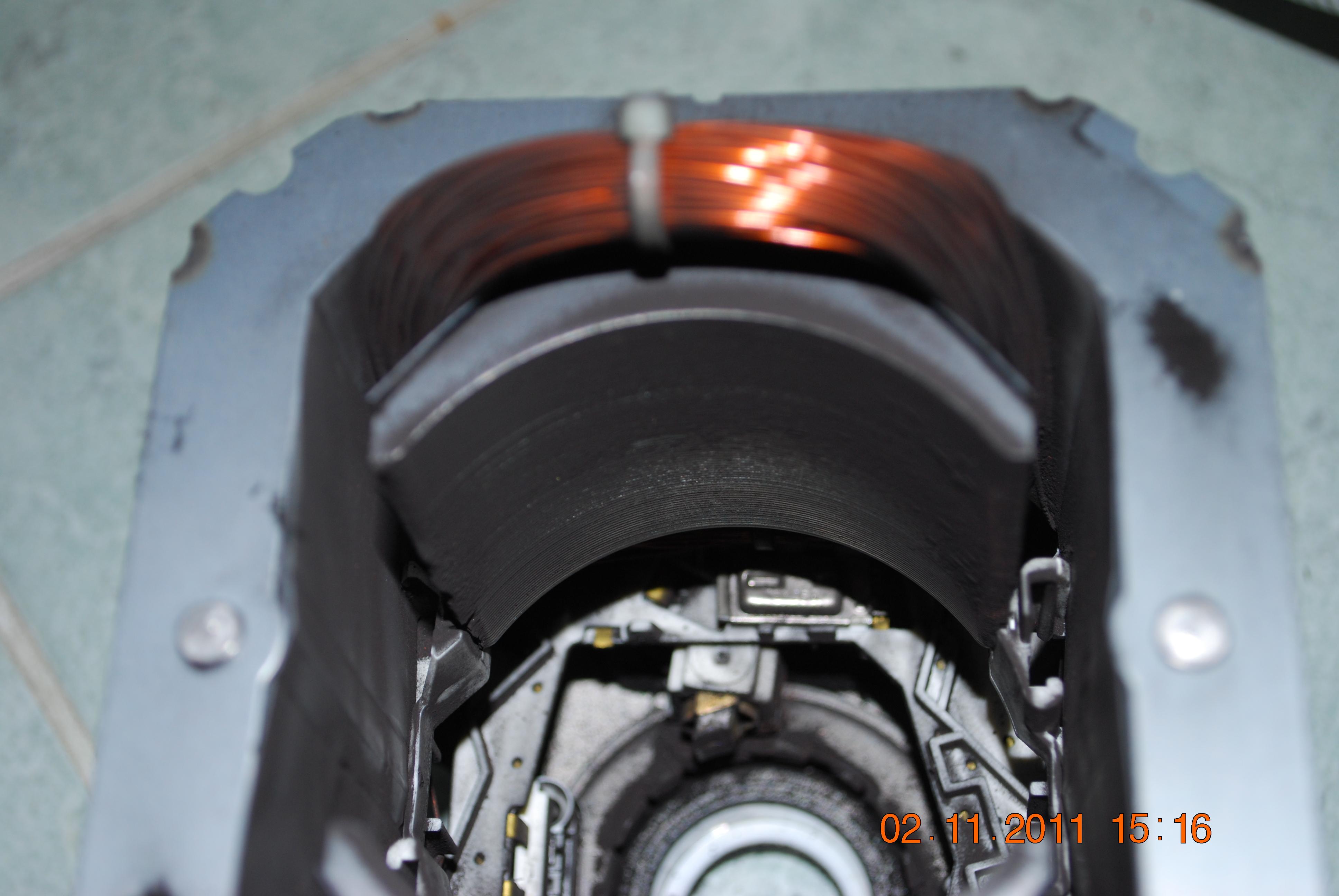 Pralka Bosch WFC2045 - nie kr�ci si� silnik