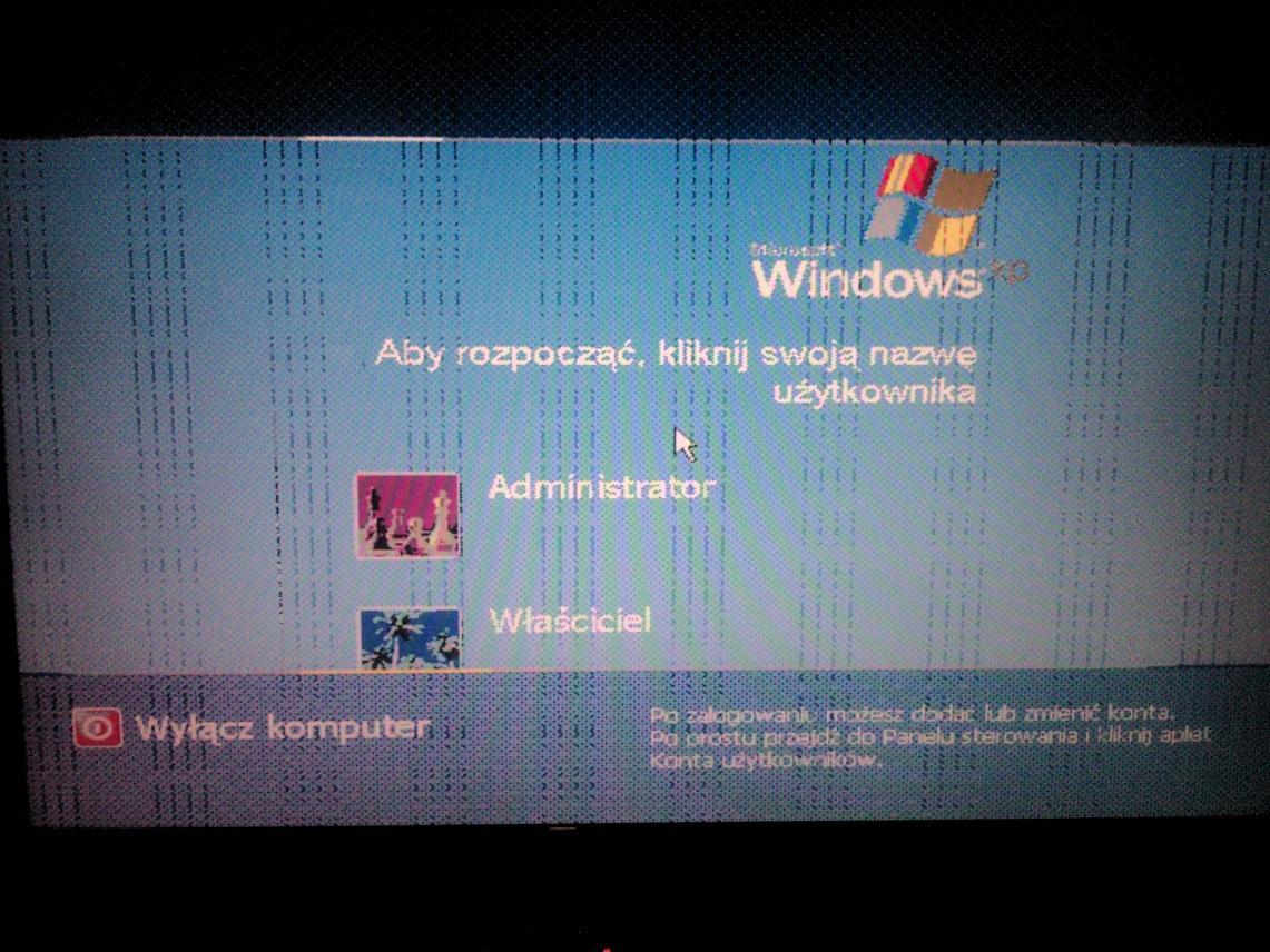 Laptop FUJITSU PI1565 - Pad�a Grafika ?? (Uszkodzona karta)