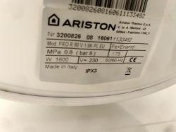 Ariston szwankuje wskaźnik czy coś innego??