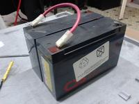 APC Back-UPS 600 - Wymiana akumulatora
