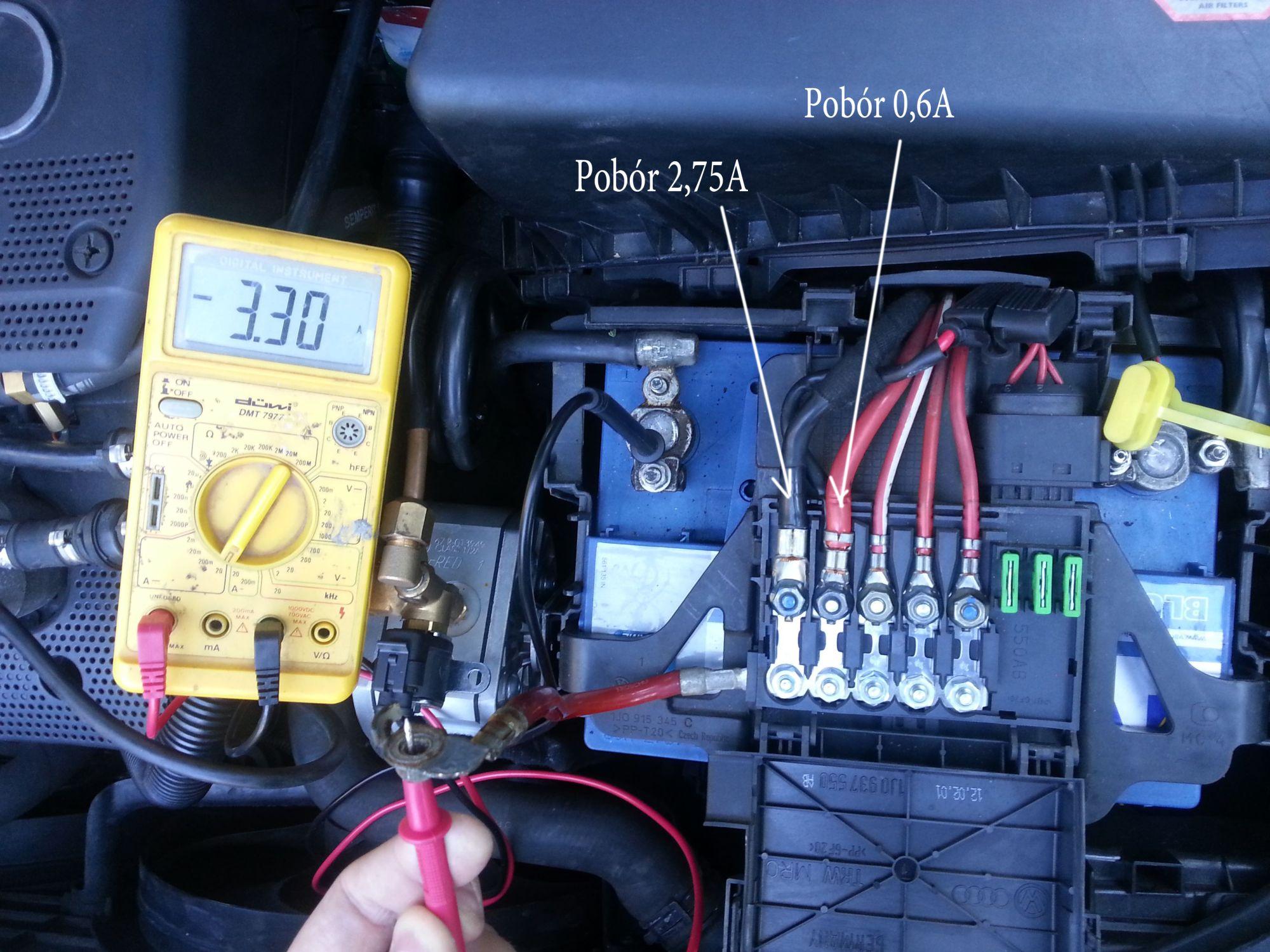 Modish Audi A3 1.8T - świeci kontrolka akumulatora - elektroda.pl RZ24