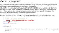 Microsoft Visual C# Express. Błąd przy kompilowaniu.