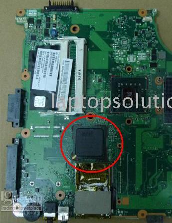 Laptop Toshiba a300 (Problem z CHicony Camera?? + USB)