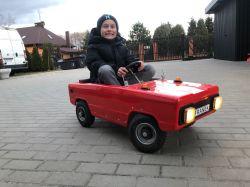 Moskwicz renowacja, przebudowa na EV