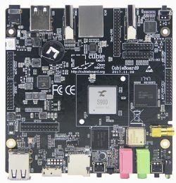 CubieBoard9 - jednopłytkowy komputer z S900, Wi-Fi, Bluetooth