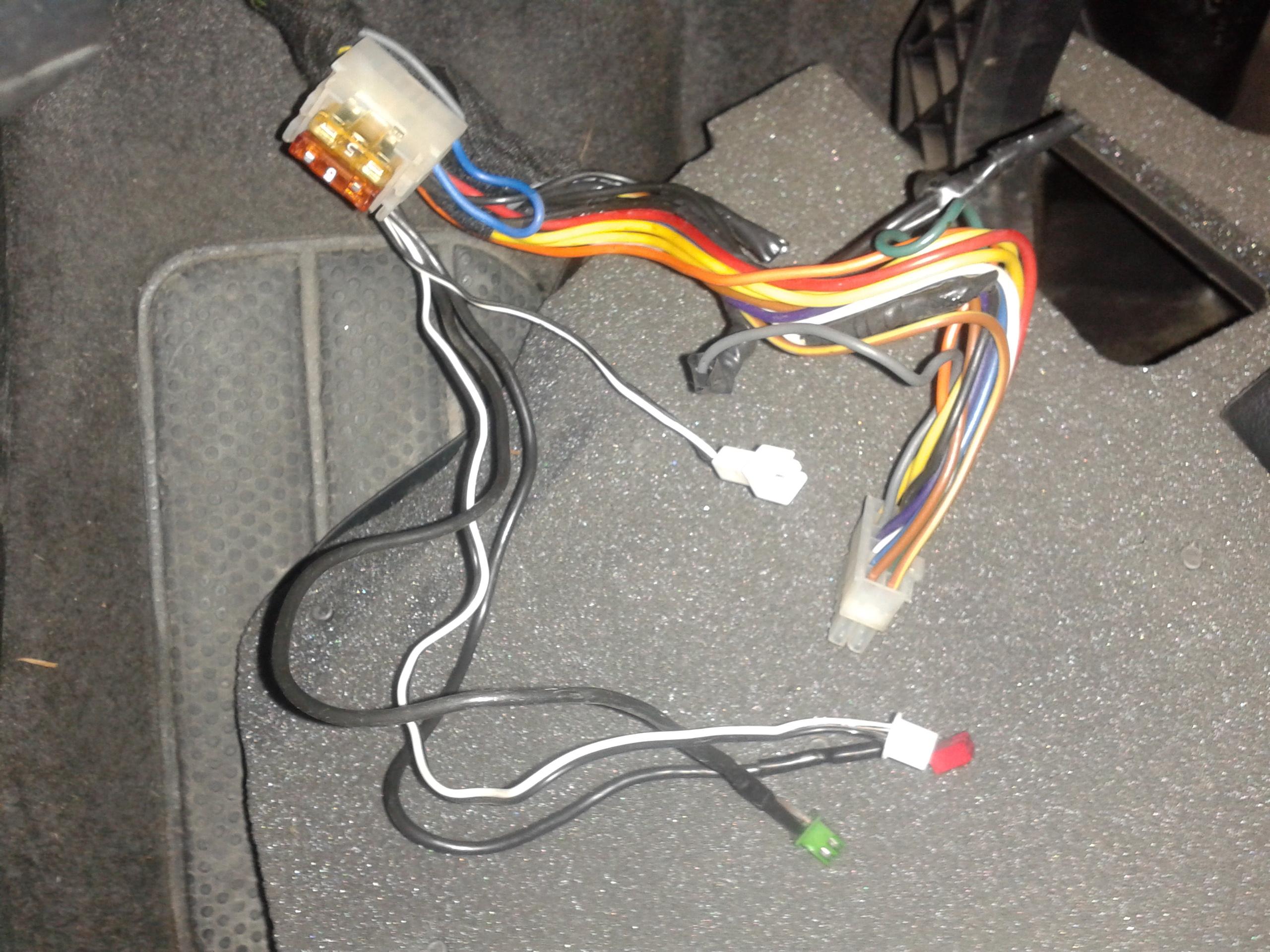 Identyfikacja alarmu samochodowego.