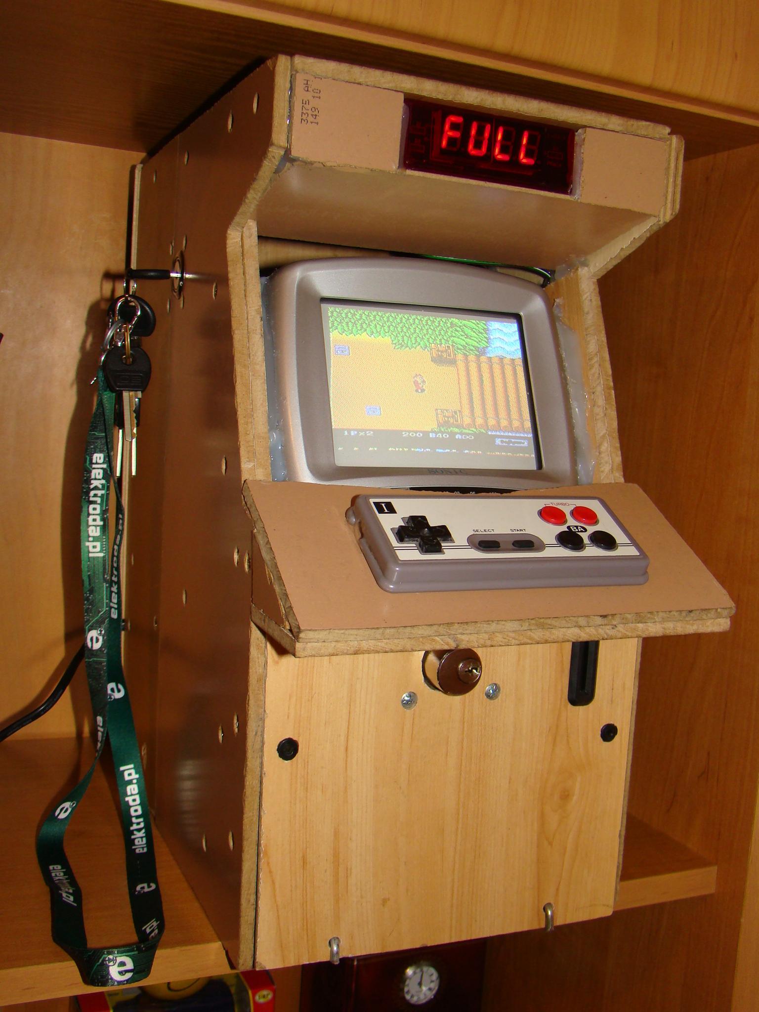 Najnowsze Automat do grania typu Arcade Game - elektroda.pl BI72