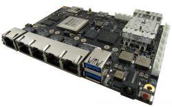 GW6400 - wzmocniony, jednopłytkowy komputer z Octeon TX i 5 portami Ethernet