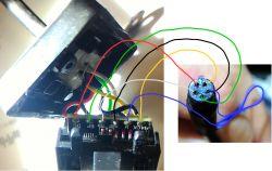 Podłączenie innej analogowej kamery do rejestratora z Androidem z wejsciem video