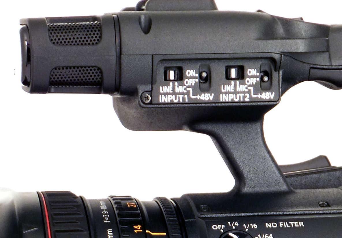 Pod��czenie mikrofonu stereo mini jack do wej�c XLR kamery