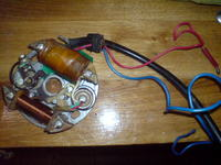 IE 40 FP - zapłon silnika dwusuwowego z opryskiwacza