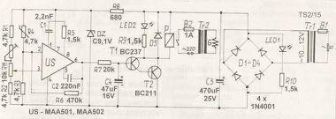Zasilanie termoregulatora na MAA501?