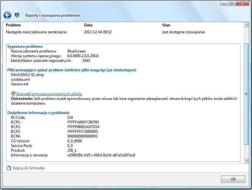 HP 6910p - zawieszanie sie i resetowanie w dziwnych sytuacjach.