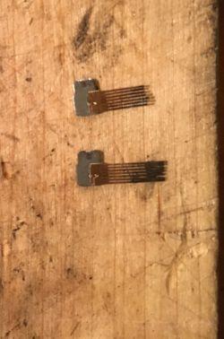 Szczotki do silnika maszynki do strzyżenia zrobione z drucików