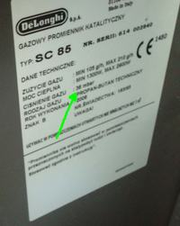 Jaka jest różnica w działaniu reduktora do butli gazowej 37/50mbar?
