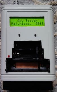 Tester parametrów akumulatorów