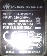 Zasilanie modemu kablowego z molexa