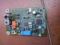 Panasonic KX-TC1000B, po burzy szumi w słuchawce