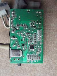 odkurzacz ergospace XXL110 - nie dziala. nawaliła płytka, czy regulacja mocy?