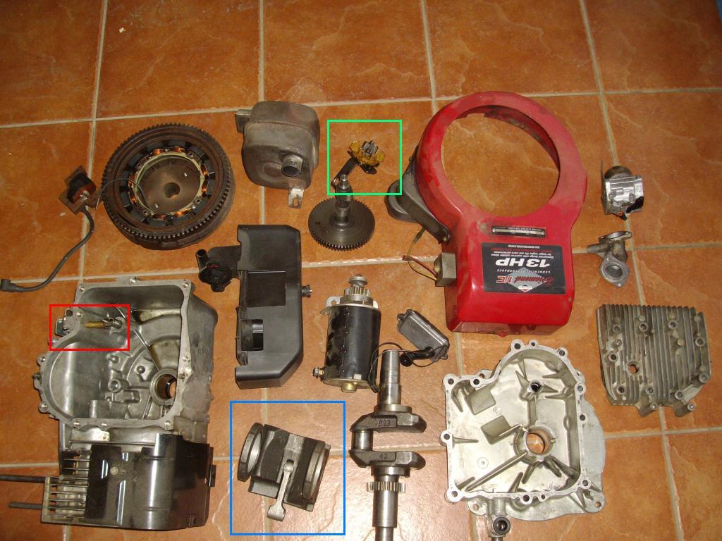 BRIGGS STRATTON 10 HP - kilka pyta� zwi�zanych z silnikiem
