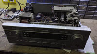 Yamaha RX-V440 - włącza się tylko na chwilę