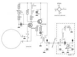 Antena magnetyczna - Schemat